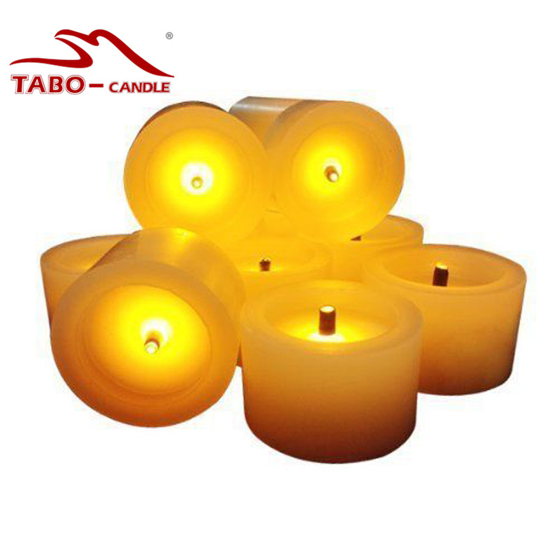 Best 6 Wax Flameless Led Battery Ed Votive Candles W