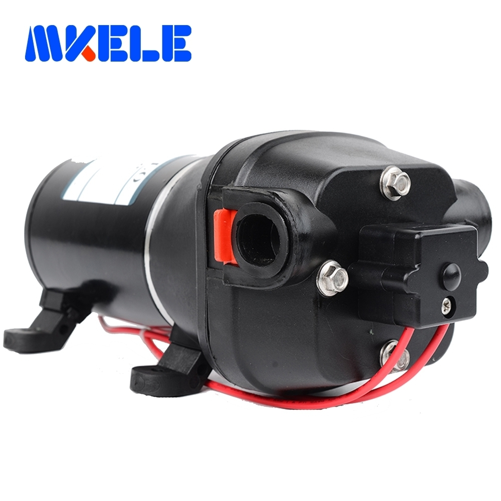 FL-100 DC 24V Submersible Water Pumps Self-priming Diaphragm Pump 100PSI Flush Pump for Yacht/Automotive 60m lift allen roth brinkley handsome oil rubbed bronze metal toothbrush holder