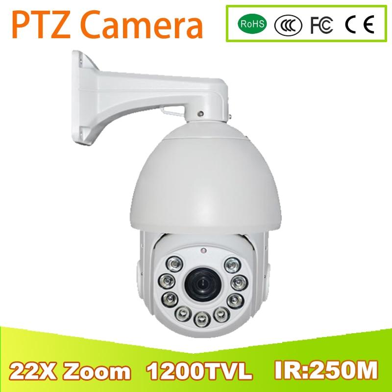YUNSYE 1200TVL Analog 22X Optical Zoom 1200TVL SONY CCD high speed PTZ IR Dome CCTV Security