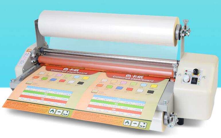 Laminating machine A2 small advertising photo single sided double sided photo film machine hot and cold