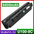 6600 mah batería para lg x110 para medion akoya mini e1210 para Msi Wind U90 U100 U200 U210 U230 BTY-S11 BTY-S12 TX2-RTL8187SE