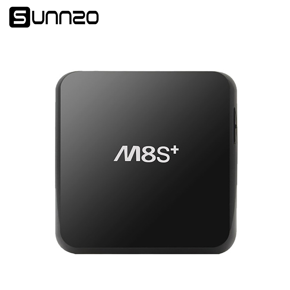 M8S Plus Android TV Box 2+8GB Amlogic S812 Quad-Core Set-top Boxes Wifi Fully Installed Kodi Cheapest Arabic TV Box For m8s+ t95 metal case amlogic s905 quad core andorid 5 1 tv box 2gb 8gb 2 4g 5ghz dual wifi kodi 16 0 add ons pre installed