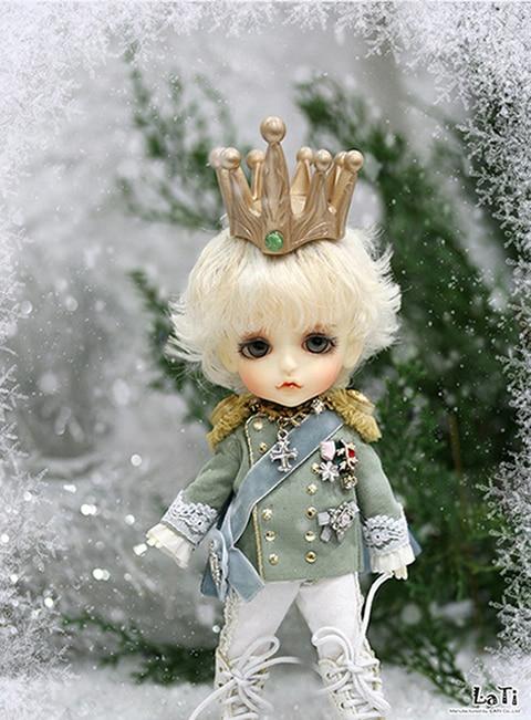 flash sale!free shipping!free makeup&eyes!top quality bjd 1/8 baby doll lati Christmas ver Lea soldier The nutcracker yosd toy