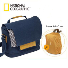 National Geographic Canvas Camera Bag Soft Shoulder Bags Large Capacity Package Portable Carry Bag For Digital SLR Laptop iPad