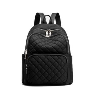 Image 2 - Sac à dos femme Style Preppy Nylon femmes sac à dos haute qualité étanche sacs à bandoulière adolescent étudiant sac pour filles sacs