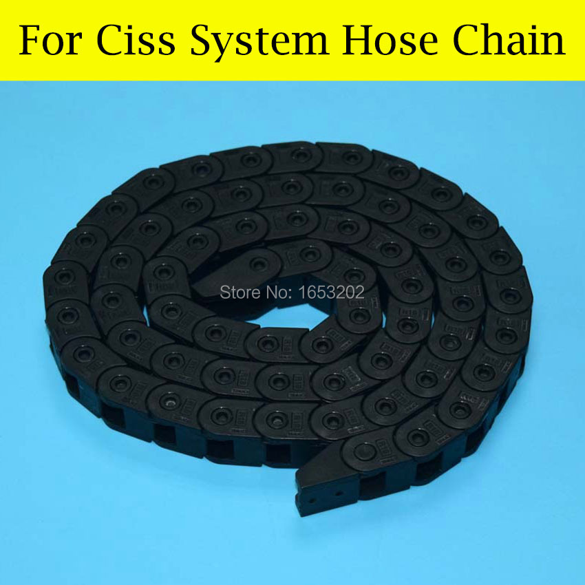 1 Set/Lot Hose Chain Ciss System For HP 711 Ciss Use For HP Designjet T120 T520 Printers Moveable Cables Hoses