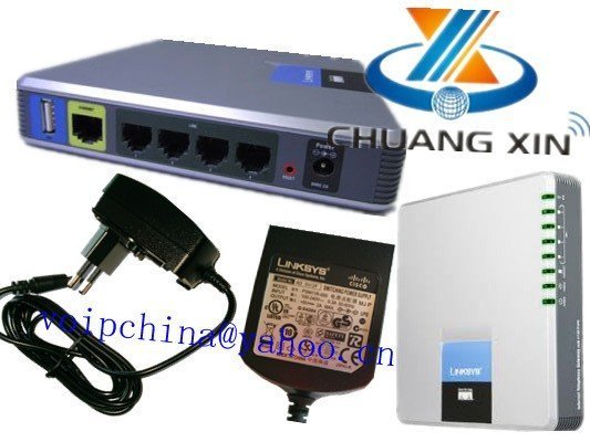 1pcs Cisco Linksys SPA400 4FXO Port Free Shipping