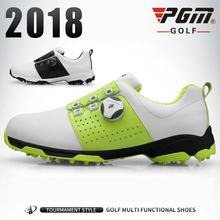 Мужская обувь для гольфа pgm спорта на открытом воздухе мужские