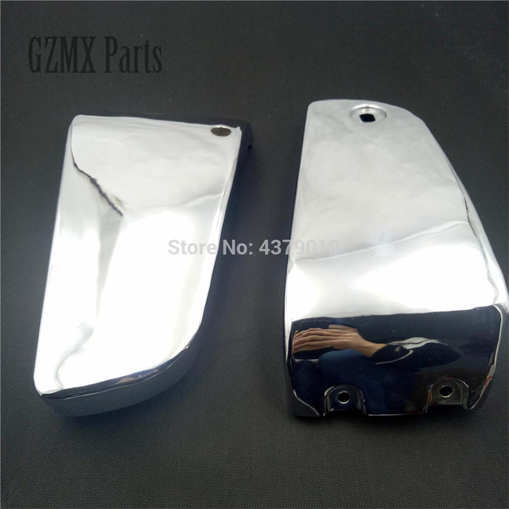 High Quality For Kawasaki Vulcan VN1500 VN 1500 1996 2017 Motorcycle Chrome Metal Battery Side Cover