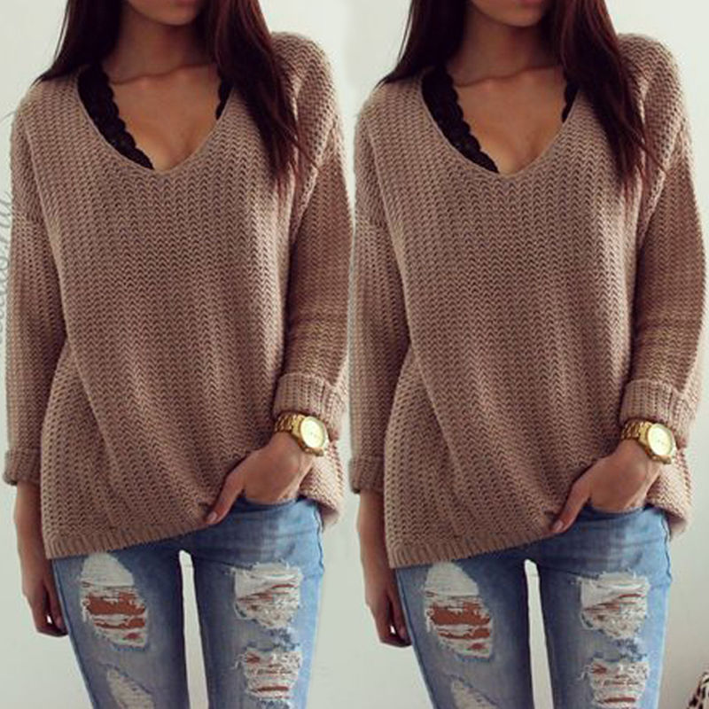 338f67c57448 Women Oversized Batwing Sleeve Knitted Sweater Tops Loose Cardigan Outwear  Coat-in Cardigans from Women s Clothing on Aliexpress.com