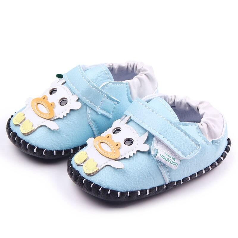 Baby Jungen Krippe Schuhe Mädchen Erste Wanderer Cartoon - Babyschuhe - Foto 2