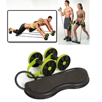 Ab Roller Wheel With Mat Abdominal Trainer Wheel Arm Waist Leg Musculation Gym Exercise Equipment Muscle Fitness Equipment