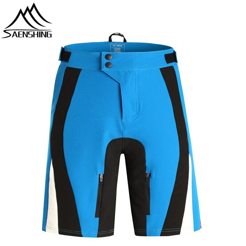 SAENSHING Vélo Shorts Hommes Respirant Montagne Vélo Court Pantalon À Séchage Rapide VTT Descente Vélo Shorts Pour Homme 4 Couleurs 5 tailles