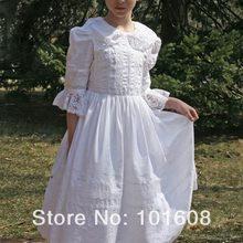 1860 S викторианской корсет готический/Гражданская война Southern Belle бальное платье Хэллоуин Лолита платья США 4-16 v-1275