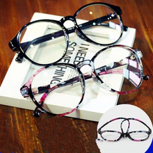 2017 Men Women retro round glasses frame spectacle Eyewear frame brand floral detachable lense freeshipping