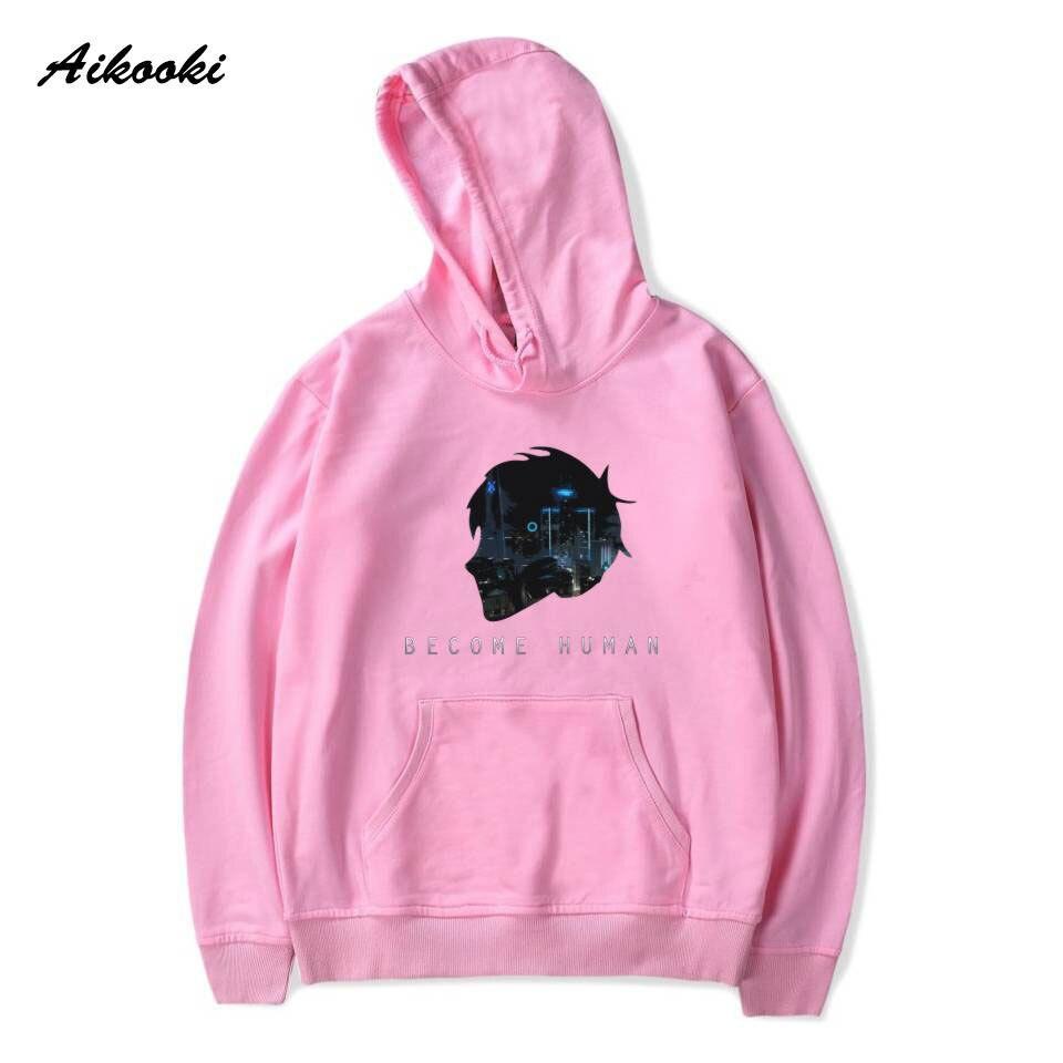 Aikooki Hot Detroit Become Human Womens Hoodies Men/Women 3D Hooded Casual Woman/Man Harajuku 3D RK800 Hoodies Sweatshirt