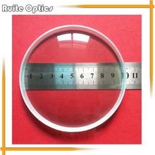 7e1071bc50 2 unids 100mm gran diámetro vidrio óptico longitud focal-300mm óptica  grande doble cóncavo lente de cristal