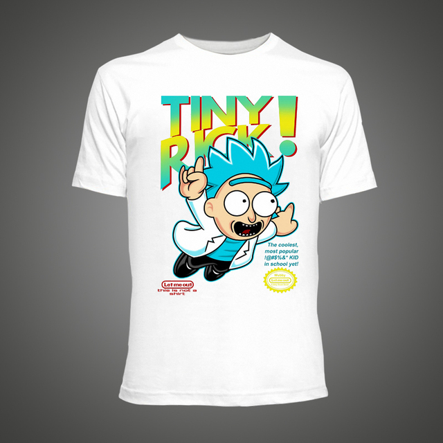 Rick and Morty – Tiny Rick Man Tshirt