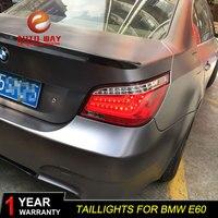 Набор для автостайлинга для BMW E60 520 525 528 530 540 2004 2010 задних сигнальных огней светодиодная сигнальная лампа фонарь задний фонарь