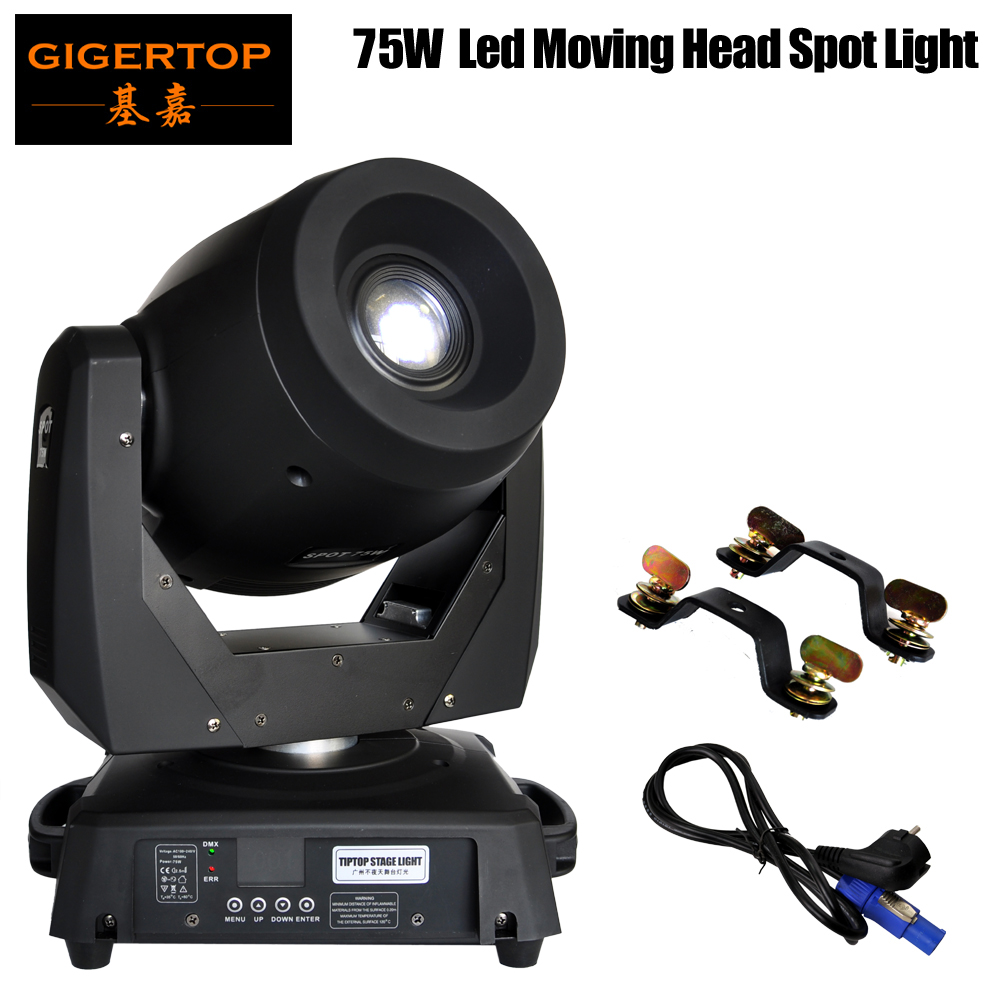 TP L606B Real 75W Gobo Projector / LED Mini Moving Head Gobo Light DMX 512 15/19 CH Control American DJ Guangzhou Stage Supplier