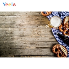 Yeele Oktoberfest Carnival Party Wooden Beer Breads Photography Backdrops Personalized Photographic Backgrounds For Photo Studio