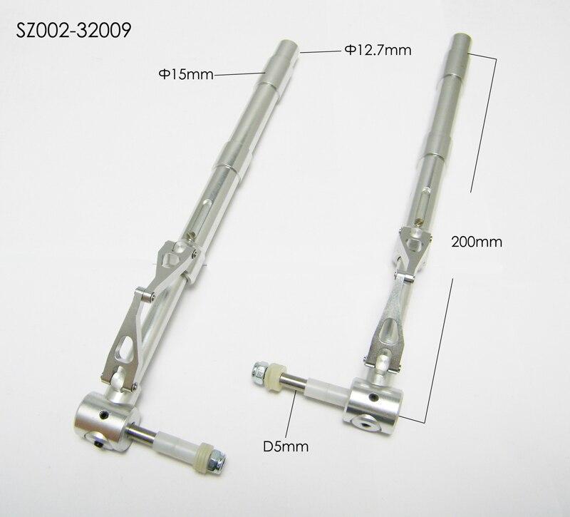 RC Vliegtuig Accessoire Metalen Anti Vibratie Landingsgestel D12.7 200mm-in Onderdelen & accessoires van Speelgoed & Hobbies op  Groep 1