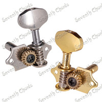 A Set 3R3L Vintage Open Gear String Tuners Tuning Pegs Key Machine Head for Acoustic Classical Guitar Accessories