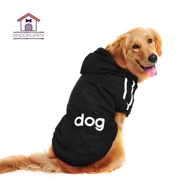 Winter Clothes for Pet Solid Cotton Dog Shirt for Pets Dogs Clothing Keep Warm Sweatshirt for Large Small Dog Puppy Pug GGA018