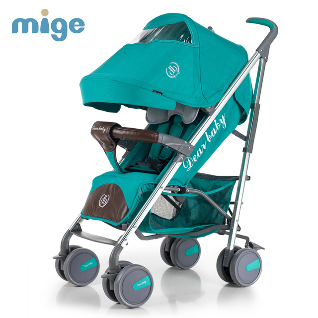 Mige Dibby Baby Stroller High Quality Fold Detachable Baby Pram