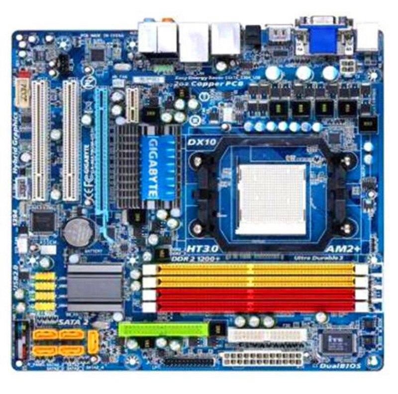 For Gigabyte GA MA78GM US2H Original Used Desktop Motherboard MA78GM US2H 780G Socket AM2 AM3 DDR2