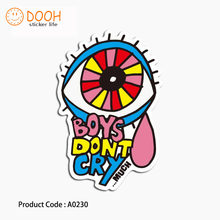 A0230 sticker bird pink panther foot print happy smile hobby suitcase laptop guitar luggage DIY skateboard bicycle toy HZ 30(China)
