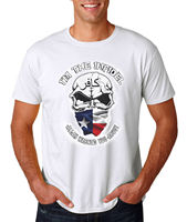 I'm The Infidel Allah Warned You About T Shirt Army Marines Skull Texas Flag