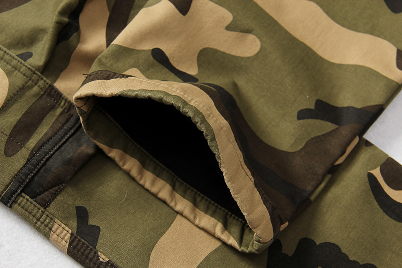 Winter Thicken Fleece Army Cargo Tactical Pants Overalls Men's Military Cotton Casual Camouflage Trousers Warm Pants 13
