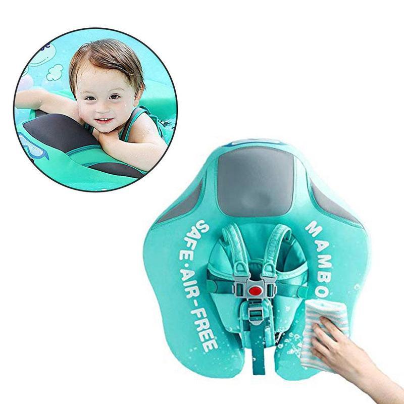 Anneau de natation couché bébé infantile doux solide enfants taille flotteur anneau flotte piscine jouets nager formateur Non-gonflable flotteur