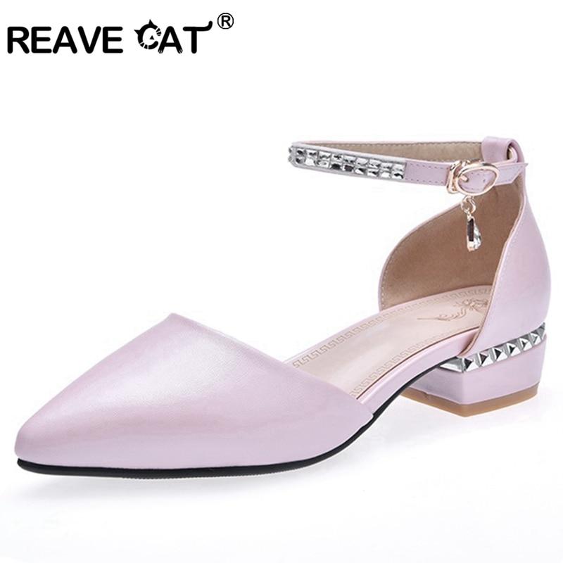2019 Deux Femme Dames Appartements Mignon D'orsay Pink Pièces Chaussures Chat Glitter Rose Reave Blanc Strass Nouvelle Boucle D'été white A1710 FqCgwwSx5