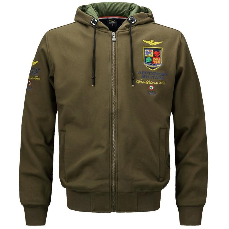 À Jacket Capuche Coton Jacket Zipper Veste Unique Hommes Printemps Casual Mâle Dark Green Mode Jacket De Pur khaki Manteau Automne army Coréenne Chandail Nouveau Blue nwqXxYSx