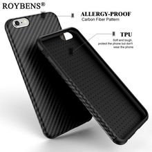 Real PC Plating + Silicone TPU Case For Iphone 6 6S / iPhone 7 Plus Case Soft Back Cover Dual Layer Tire Defender Anti-Skid Capa