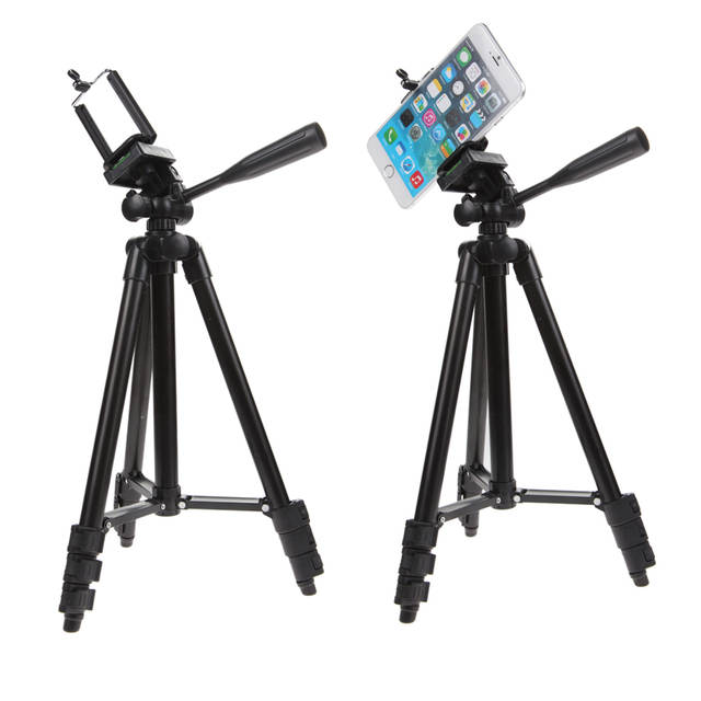 Wondrous Alloet Professional Camera Phone Tablet Clip Tripod Holder Stand Mount With Handle Pan Tilt Tripod Head For Iphone Ipad Samsung Download Free Architecture Designs Scobabritishbridgeorg