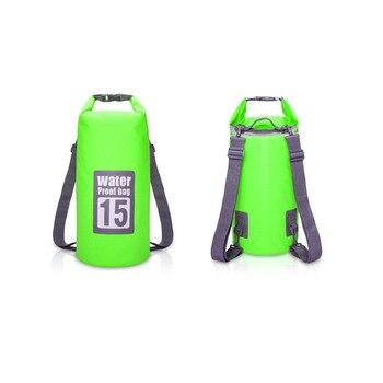 Waterproof Swimming Backpack Bag 5L 10L 15L 20L Portable Ultralight Waterproof Floating Bag Outdoor Camping Storage Dry Sack Bag 7