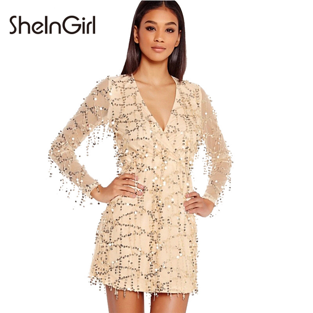 Compare Prices on Sheer Sequin Dress- Online Shopping/Buy Low ...