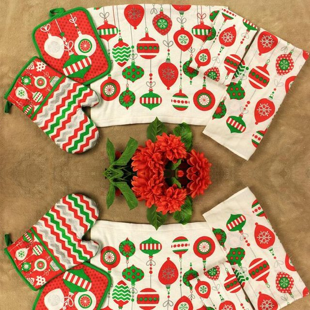 Collection Christmas Kitchen Towels Pictures
