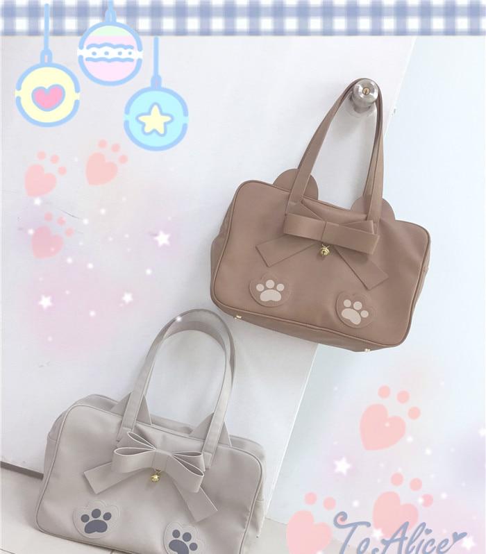 Princess sweet lolita bag Original lovely baby bear small raccoon ultra large capacity fashion and adorable shoulder bag BAG200