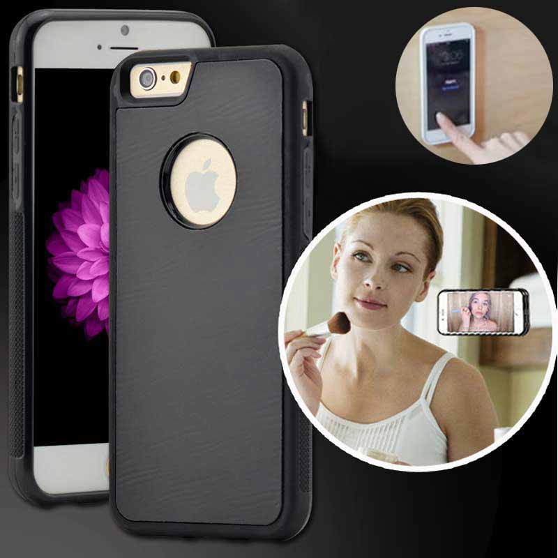 cheap for discount 7e686 a8744 US $4.99 |Anti Gravity Nano Suction Case for iPhone 5 5S SE 6 6s/6 6s Plus  Samsung Galaxy S7 Edge S6 Edge S6 Sticky Phone Back Cover Coque on ...