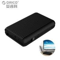 ORICO 3,5 4 TB USB3.1 Gen2 TYPE-C 10 Gbps High-Speed Stoßfest externe Festplatten HDD Desktop Laptop Mobile Festplatte EU stecker