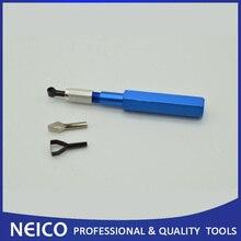 Виниловый пол мульти рука Groover с алюминиевой ручкой включает 3 шт. лезвия