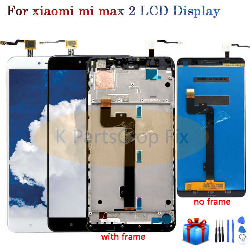 "6.44""1920x1080 IPS LCD Display For XIAOMI MI MAX 2 LCD Touch Screen for Max2 Mi Max 2 LCD Digitizer with Frame Replacement Parts"