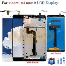 """6.44 """"1920x1080 IPS LCD תצוגה עבור XIAOMI MI מקסימום 2 LCD מסך מגע עבור Max2 Mi מקסימום 2 LCD Digitizer עם מסגרת החלפת חלקים"""
