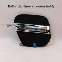 High Quality For BMW X5 11 13 Daytime Running Light Fog Lights DRL LED Car Fog
