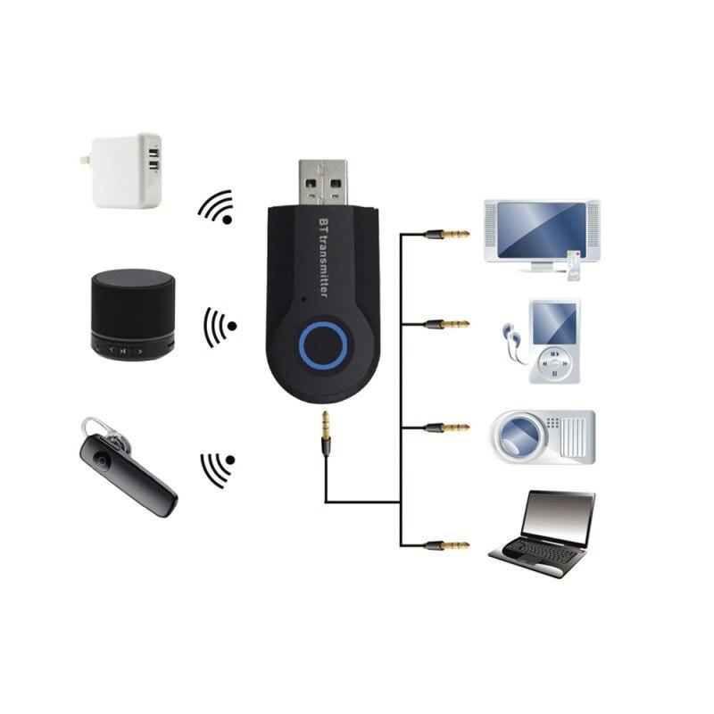 Unterhaltungselektronik Professionelle 3,5mm Stereo Audio Usb Musik Adapter Drahtlose Bluetooth Transmitter Für Tv Telefon Projektor Notebook Psp Mp3 Die Nieren NäHren Und Rheuma Lindern