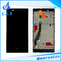 1 piece free shipping tested replacement repair parts 4.3 inch screen for Nokia Lumia 720 lcd display with touch digitizer+frame